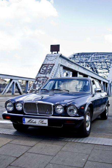 Jaguar XJ6 klasyk do ślubu Kraków - Chrzanów - małopolskie