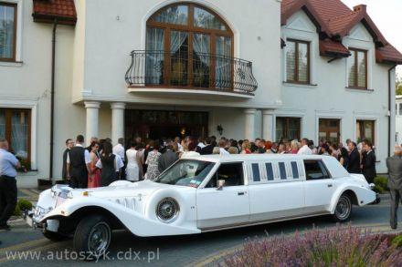 Samochody ślubne,limuzyny,zabytkowe,excalibur limuzyna do ślubu,wynajem z kierowcą  -  Warszawa  -  mazowieckie