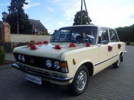 HIT SEZONU- ślub w stylu PRL! Piękny Fiat 125p do ślubu! - Toruń - kujawsko-pomorskie