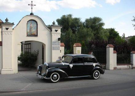 Zabytkowy Mercedes S220 1952r. do ślubu - Toruń - kujawsko-pomorskie