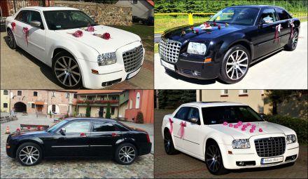 BMW, Chrysler 300C biały i czarny  -  Brodnica  -  kujawsko-pomorskie