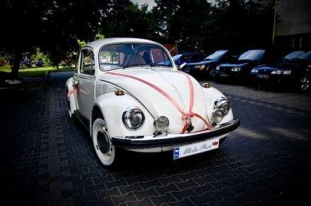 Piękny Garbus - 1974r PEŁEN ORYGINAŁ beżowy / kremowy / ecru  -  Warszawa  -  mazowieckie