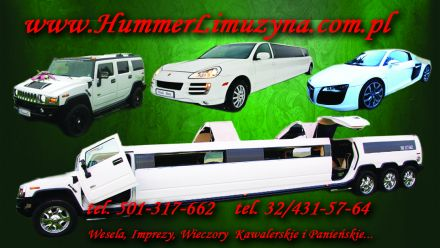 HUMMER LIMUZYNA WROCŁAW,AUDI R8 LEGNICA,FERRARI BOGATYNIA,PORSCHE ZGORZELEC - Wrocław - dolnośląskie
