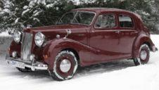 Austin A125 Sheerline Saloon 1953  -  Warszawa  -  mazowieckie
