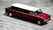 Oryginalny retro samochód do ślubu. Zabytkowy Trabant Limuzyna - Halinów - mazowieckie