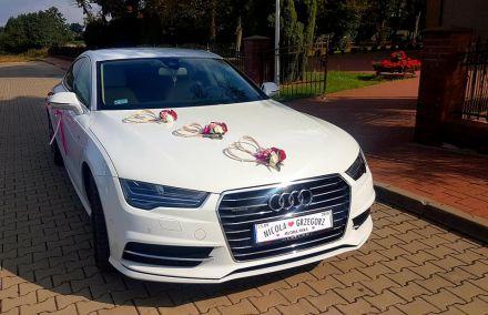 Auto do ślubu - dwa białeAudi A7  -  Tarnowskie Góry  -  śląskie