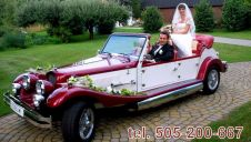 Auto do ślubu NESTOR BARON -AUSTIN PRINCESS -CADILLAC DE VILLE