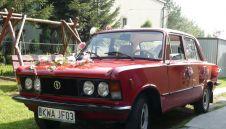 Fiat 125p,piękne wspomnienie PRL-u do ślubu  -  Wadowice  -  małopolskie
