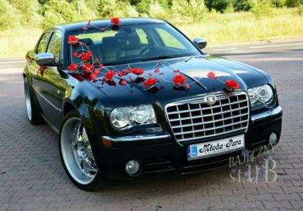 Wynajem auta do ślubu CHRYSLER 300c, cały Śląsk - Rybnik - śląskie