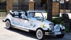 Samochody do ślubu Siedlce Auta na wesele Limuzyny ślubne Samochody weselne Wypożyczalnia samochodów na wesela Auta Retro Cabrio Nestor Baron Auto RETRO na ślub Alfa Romeo Spider - Biała Podlaska - lubelskie