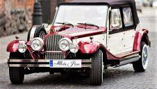 Kabriolet do ślubu Nestor Baron, Replika Alfa Romeo Spider, Samochody zabytkowe, Limuzyny ślubne, Auta weselne - Białystok - podlaskie