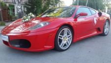 Ferrari luksusowe auta do ślubu cała Polska