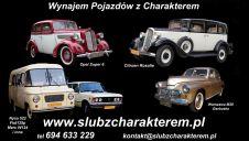 Auta na Ślub z Charakterem  -  Łódź  -  łódzkie