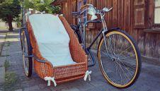 Oryginalny rower do ślubu i na wesele z dowozem. Pojedź rowerem do ślubu!  -  Orzesze  -  śląskie