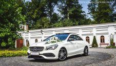 MERCEDES CLA DO ŚLUBU - Wynajem samochodu na wesele. Śląsk, Małopolska  -  Bielsko-Biała  -  śląskie