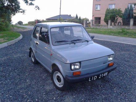 Unikatowy, 30-letni FSM Polski Fiat 126p 650E. - Racibórz - śląskie