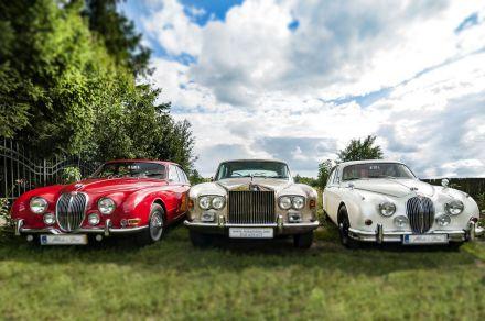 Rolls Royce Silver Shadow, Jaguar S-Type, Jaguar MKII - Klasyki - Łódź - łódzkie