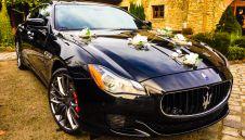 Maserati Quattroporte do ślubu  -  Kraków  -  małopolskie