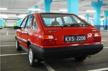 Auto samochód na wesele do ślubu wynajem Polonez Caro CZERWONA PERŁA Legenda PRL Borewicz - Kraków - małopolskie