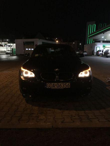Auto do Ślubu BMW 5 E60 M-PAKIET *CZARNE* - Kraków - małopolskie