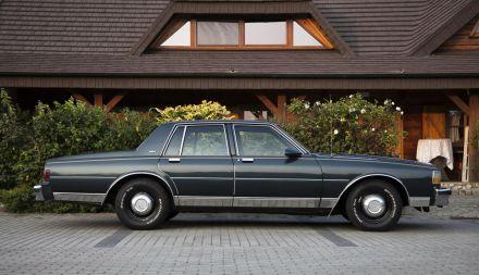Chevrolet Caprice - klasyczne V8 do ślubu Made in U.S.A - Zielona Góra - lubuskie