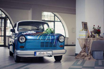Trabant Ślub, Wesele, samochód retro - Toruń - kujawsko-pomorskie