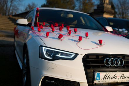Samochód marzeń na Twój ślub - LAST MINUTE - 30% - Audi A6, A5 - Kraków - małopolskie