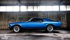 Zabytkowy Mustang Fastback, Mach 1 do ślubu z opcją samodzielnego prowadzenia