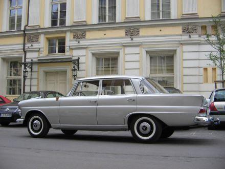 Auto do ślubu . Zabytkowy Mercedes z 1963 rok - skrzydlak - Wschowa - lubuskie