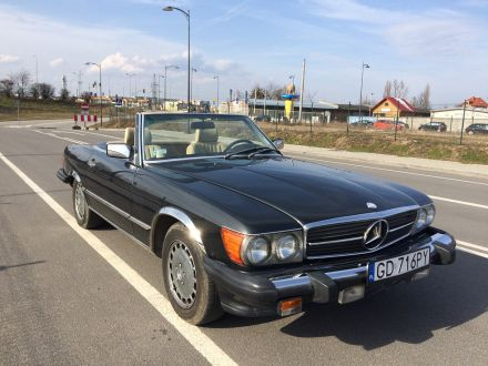 Mercedes SL 560 Cabrio - Gdańsk - pomorskie
