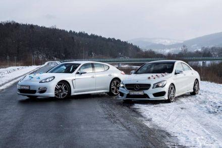 Mercedes CLA AMG | Porsche Panamera auto do ślubu | samochód na wesele - Wadowice - małopolskie