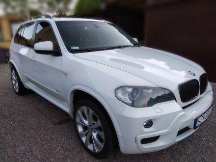 Białe luksusowe BMW X5 wolne terminy 2018 - Bielsko-Biała - śląskie