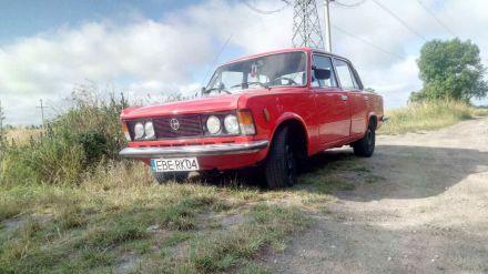 Król polskich szos, limuzyna PRL-u Fiat 125p - Dzierżoniów - dolnośląskie