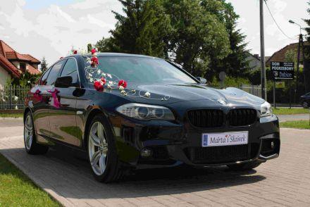Limuzyna Auto do ślubu BMW 5 F10 - Wesela Mazowieckie Warszawa - Stare Babice - mazowieckie