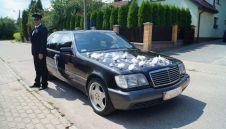 Zabytkowy Mercedes S- Klasa W140 grafitowy  -  Giżycko  -  warmińsko-mazurskie