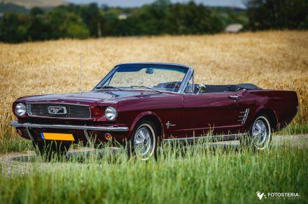 Ford Mustang `66 Cabrio na Twoje wesele, slub - Wyjatkowy - Świerklany - śląskie