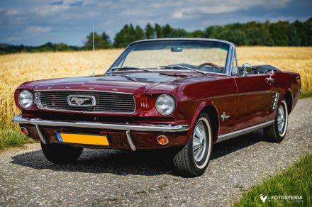 Ford Mustang`66 Cabrio na Twoje wesele, slub Wyjatkowy - Czerwionka-Leszczyny - śląskie