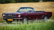 Ford Mustang `66 Cabrio - Auto retro na wesele, zabytkowy samochod do slubu  -  Wodzisław Śląski  -  śląskie
