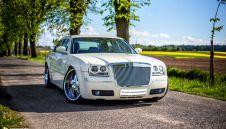 Chrysler 300 LV `22 cale - kolor ecru - auta do slubu, auto na wesele  -  Jastrzębie-Zdrój  -  śląskie