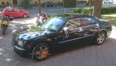 Czarny Chrysler 300C samochód do slubu  -  Olsztyn  -  warmińsko-mazurskie