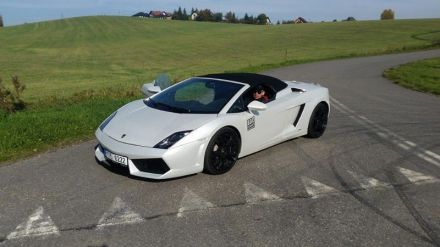 Samochody do ślubu - Lamborghini Gallardo Spyder - Kraków - małopolskie