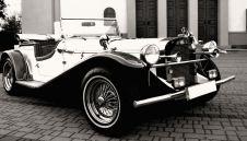Auto do ślubu Mercedes Gazelle 1929 unikat klasyk retro auta wesele, zabykowy  -  Rogoźno  -  wielkopolskie