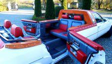 Cadillac Brougham Kabriolet, 7-osobwy 5.0 V8, amerykański klasyk, unikat, retro, prawie 8 metrow !  -  Rogoźno  -  wielkopolskie