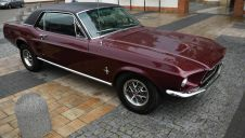 Ford Mustang Sports Sprint 1967! Vintage burgundy.