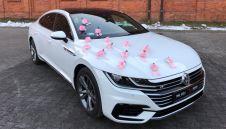 Samochód Auto do ślubu nowy Volkswagen Arteon R-line Biały -łódzkie  -  Łódź  -  łódzkie
