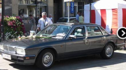 Samochód do ślubu zabytkowy Jaguar - Grudziądz - kujawsko-pomorskie
