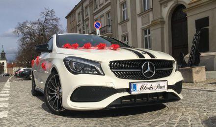 Sportowym autem do ślubu.. MERCEDES CLA AMG (White Art) - Warszawa - mazowieckie