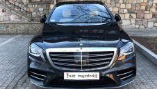 LUKSUSOWY Mercedes Klasy S AMG LONG 2019  -  Warszawa  -  mazowieckie