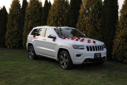 Limuzyna ślubna Jeep Grand Cherokee - Rzeszów - podkarpackie