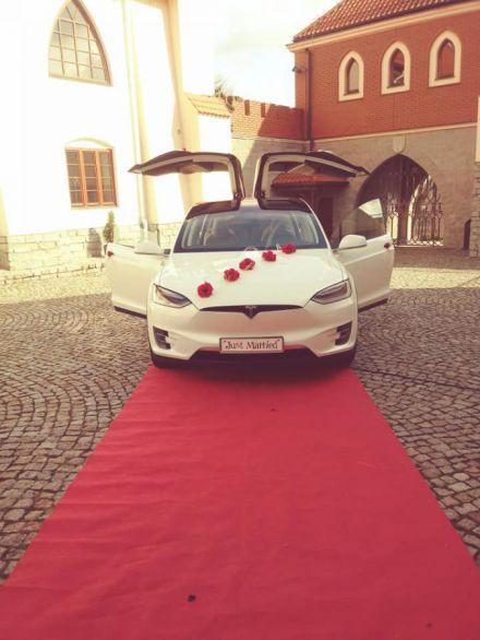 Elektryczna Tesla X- wyjątkowe auto do ślubu - Gostynin - mazowieckie